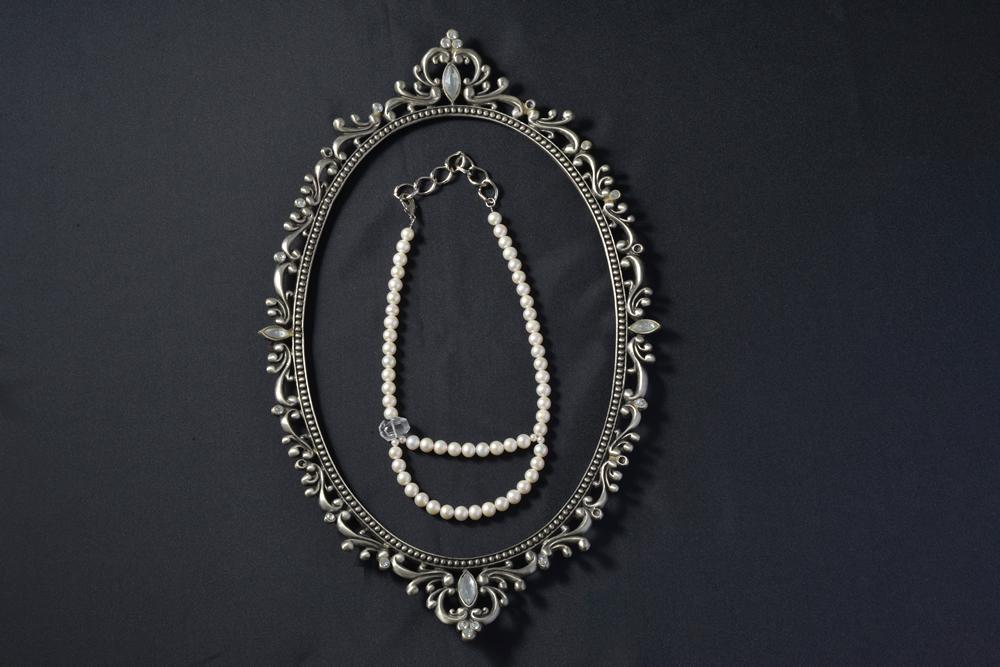 バロック真珠ネックレス