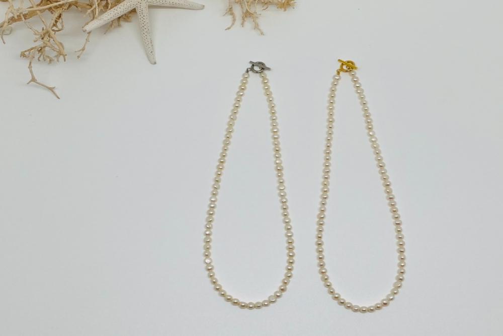 淡水真珠ネックレス G